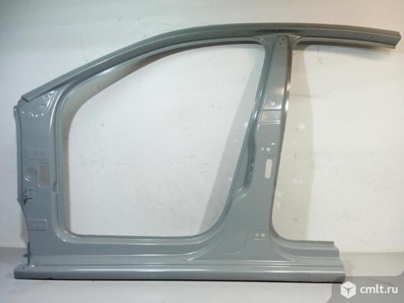 Боковина левая порог стойка VW POLO седан 10-18 6RU809605C 4.5*. Фото 1.