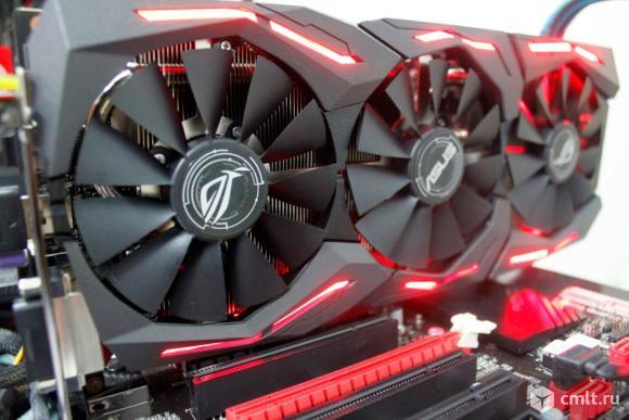 Игровая видеокарта asus GeForce GTX 1060,ROG, 6Gb. Фото 4.