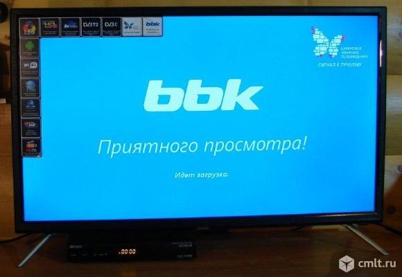 BBK 32LEX-5023/T2C Smart TV,Android,WI-FI. Фото 1.