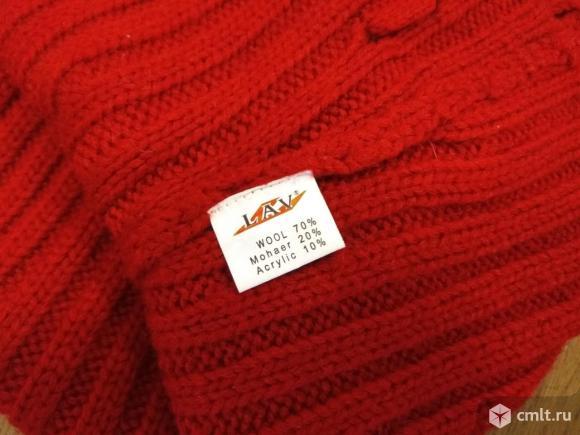 Очень качественный шерстяной свитер, р-р 44-46. Фото 2.