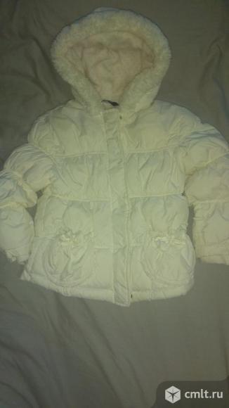 Куртка осень-весна для девочки 3-4 года