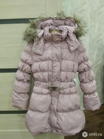 Пуховик пальто дл девочки!