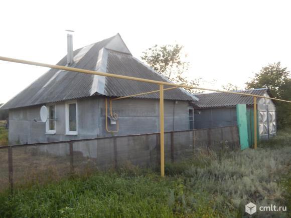 Лискинский район, Новониколаевский. Дом, 42 кв.м, гараж. Фото 1.
