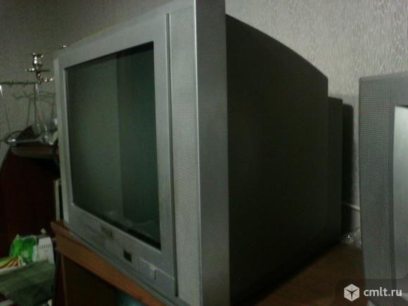 Телевизор кинескопный цв. Thomson. Фото 3.