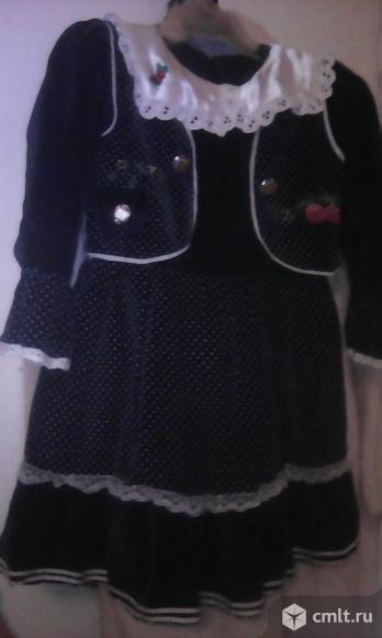 Нарядное платье на подкладке.