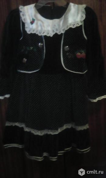 Нарядное платье на подкладке.. Фото 4.