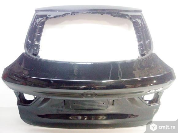 Крышка багажника BMW X4 F26 14- б/у 41007339422 4*. Фото 1.