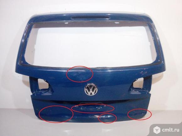 Дверь крышка багажника VOLKSWAGEN TOURAN 11- б/у а36 1T0827025Q. Фото 1.