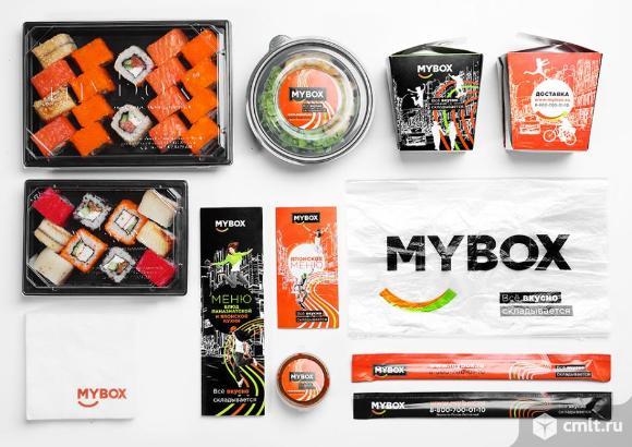 Mybox, продажа суши. Фото 2.