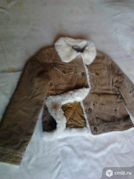 Куртка вельветовая женская, р. 46-48, отличное состояние. Фото 1.