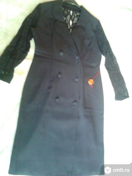 Платье вечернее черное, новое, р. 46-48, Германия, 2.9 тыс. Фото 1.