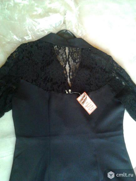 Платье вечернее черное, новое, р. 46-48, Германия, 2.9 тыс. Фото 4.