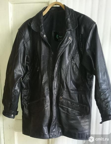 Продаю куртку натуральная кожа. Фото 1.