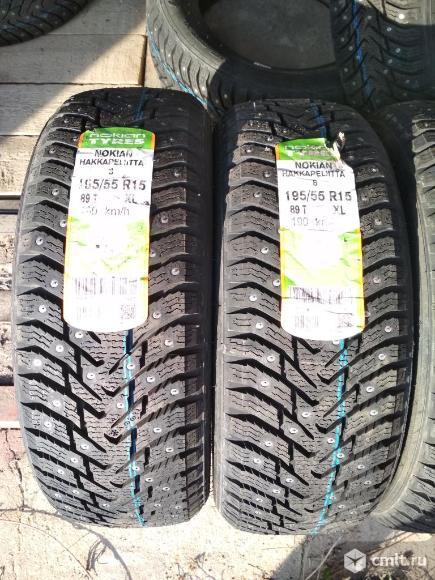 Новые зимние шины Nokian Hakkapeliitta 8 195/55/15. Фото 2.