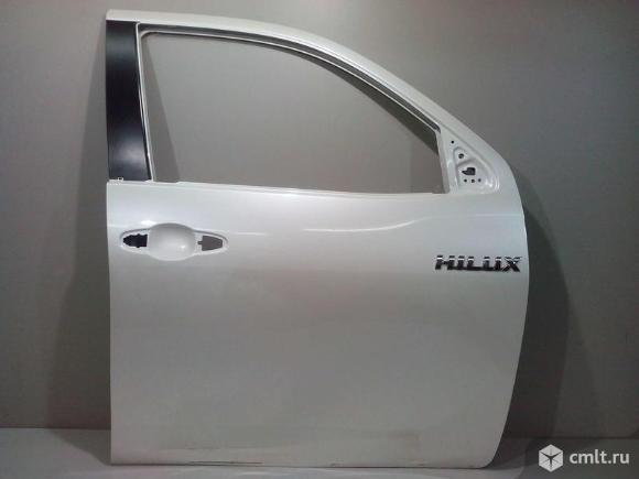 Дверь передняя правая TOYOTA HILUX 15- б/у 67002KK010 3*. Фото 1.