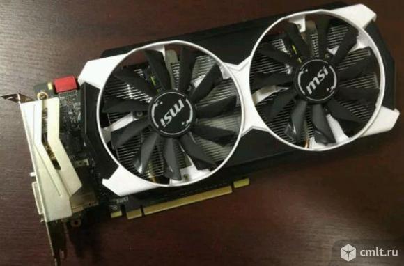 GeForce GTX960 MSI Tiger OC. Фото 1.