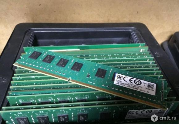 DDR3 4GB память 1600мгц. Фото 1.
