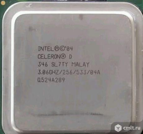 Процессор 775 Intel Celeron D 346. Фото 1.