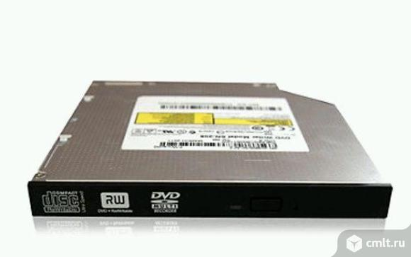 Привод для ноутбука dvd-rw slim, черный