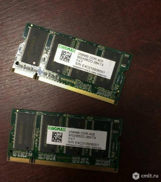 SO-dimm DDR память 256Mb 400MHz