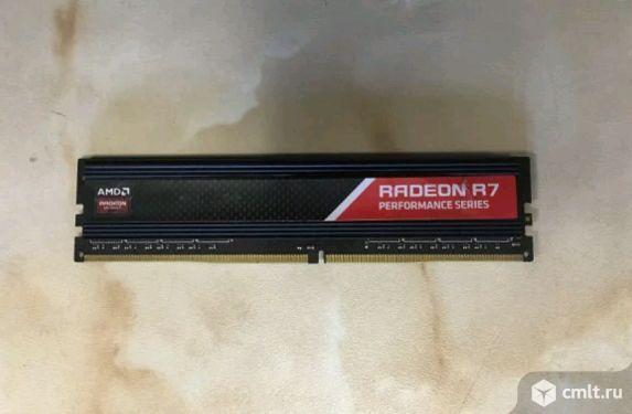 DDR4 Модуль памяти 4GB 2400мгц AMD R744G2400U1S-O