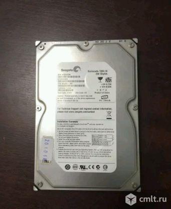 250Gb barrakuda Жесткий диск IDE. Фото 1.