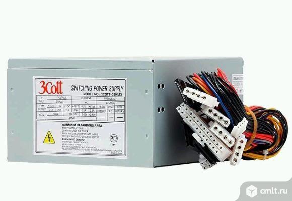 Блок питания ATX 450W 3Cott - Новый