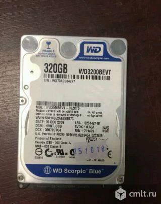 320Gb Жесткий диск на ноутбук