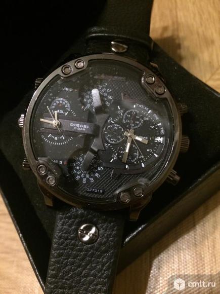 Мужские часы diesel only THE brave новые. Фото 4.
