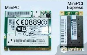 Wi-Fi адаптеры miniPCI и mini PCI-Ex ассортимент. Фото 1.