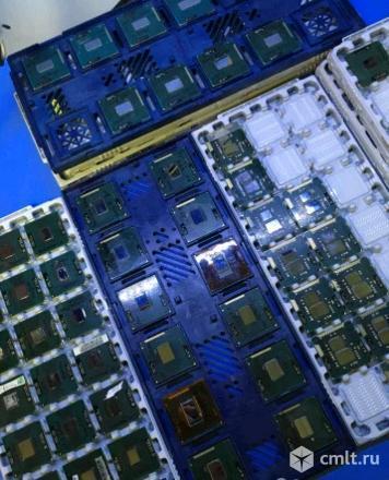 Процессоры intel для ноутбуков. Фото 1.