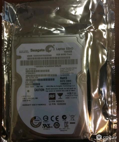 Sshd 1тб гибридный Seagate ST1000LM014 - Новый
