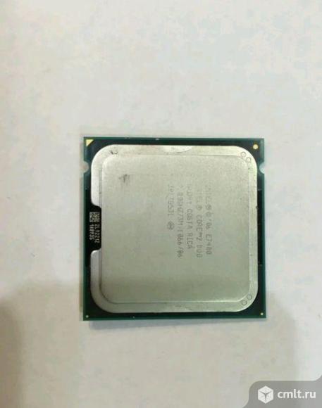 Процессор 775 Intel Core 2 Duo E7400 2.8GHz. Фото 1.