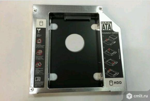 """Адаптер HDD/SSD 2.5"""" в 12.7 мм отсек DVD ноутбука"""