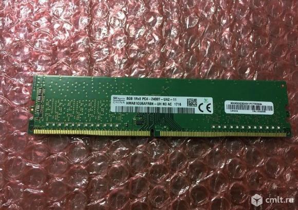 Модуль памяти dimm DDR4 8GB, 2400мгц (PC19200) Hyn. Фото 1.