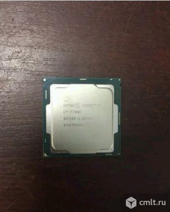 1151 Процессор Intel Core i7-7700K - Новый. Фото 1.