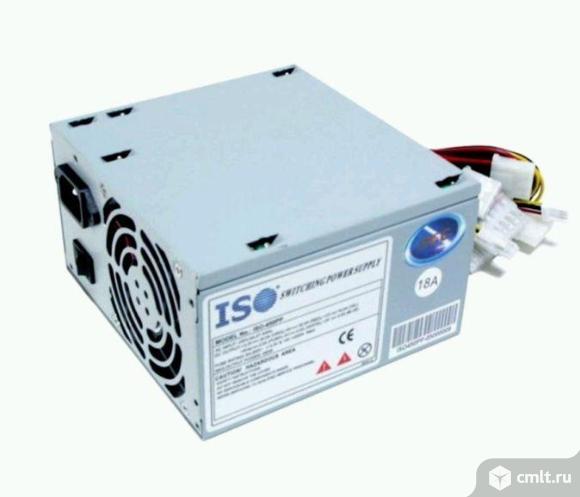 Блок питания ATX 350W ISO-450PP 4S. Фото 1.
