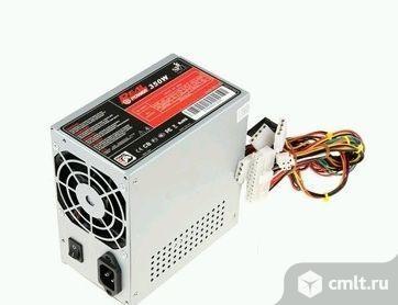 Блок питания ATX 350W RealPower. Фото 1.