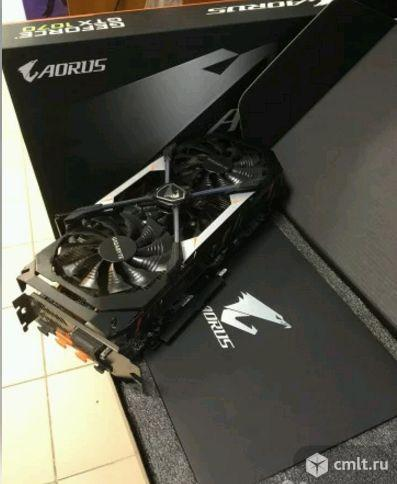 GeForce GTX1070, 8GB, Gigabyte aorus на гарантии