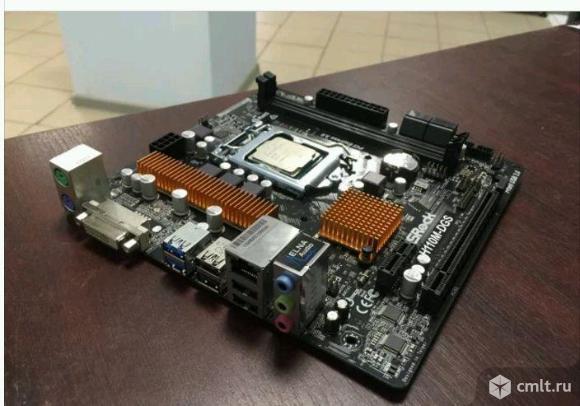 Процессор Pentium G4560 1151 + плата H110M