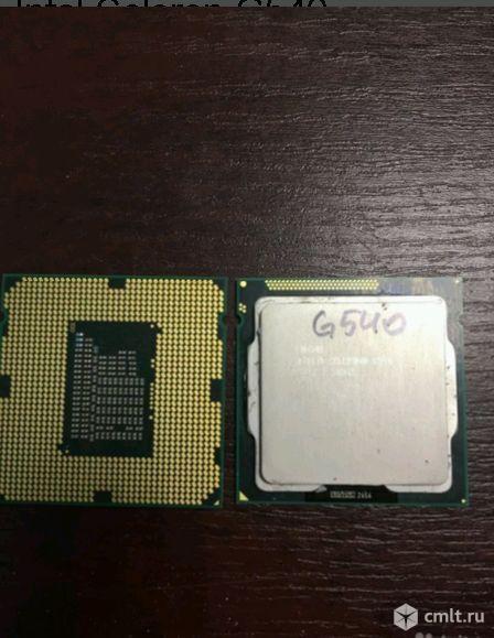 1155 Процессор Intel Celeron G540. Фото 1.