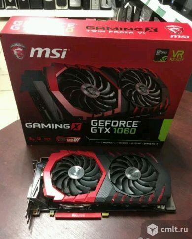 Новая GeForce GTX1060 MSI gaming 6G. Фото 1.