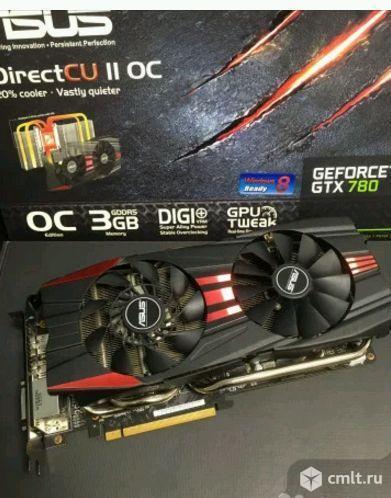 GeForce GTX780, 3GB, gddr5, 384bit, asus. Фото 1.