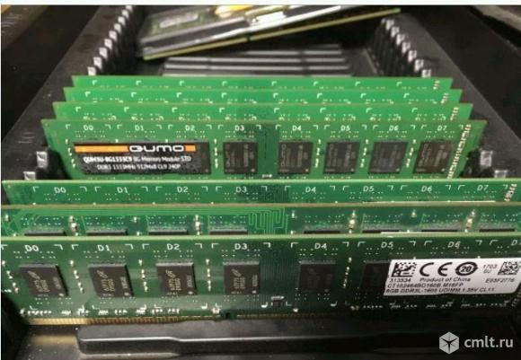 DDR3 8GB память на компьютер. Фото 1.