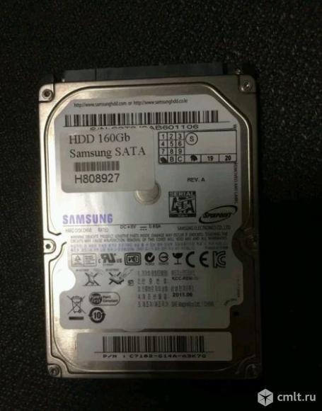 "Жесткий диск 2.5"" SATA 160Gb SAMSUNG на ноутбук"