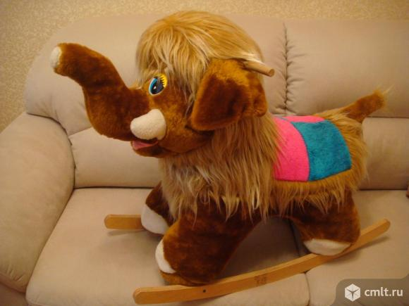 Игрушка-качалка мамонтенок шерри