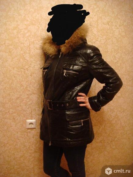 Куртка-дубленка зимняя (италия ). Фото 9.