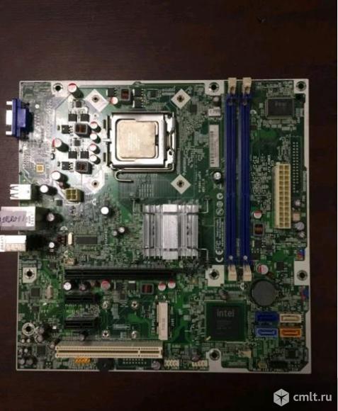 Связка 775 Core2Duo + плата G41 на DDR3. Фото 1.