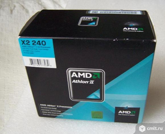 AMD Athlon II X2 240 Box (+ радиатор и вентилятор)