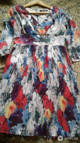 Продается красивое цветное платье.